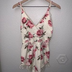 Misguided floral romper